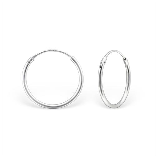 Sterling Silver 16mm Sleepers Jewellery Earrings