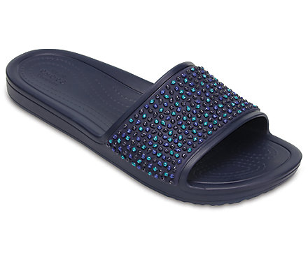 ab449dcd8e10 Sloane Embellished Slide - Crocs - Womens Footwear-Slides   Mariposa ...