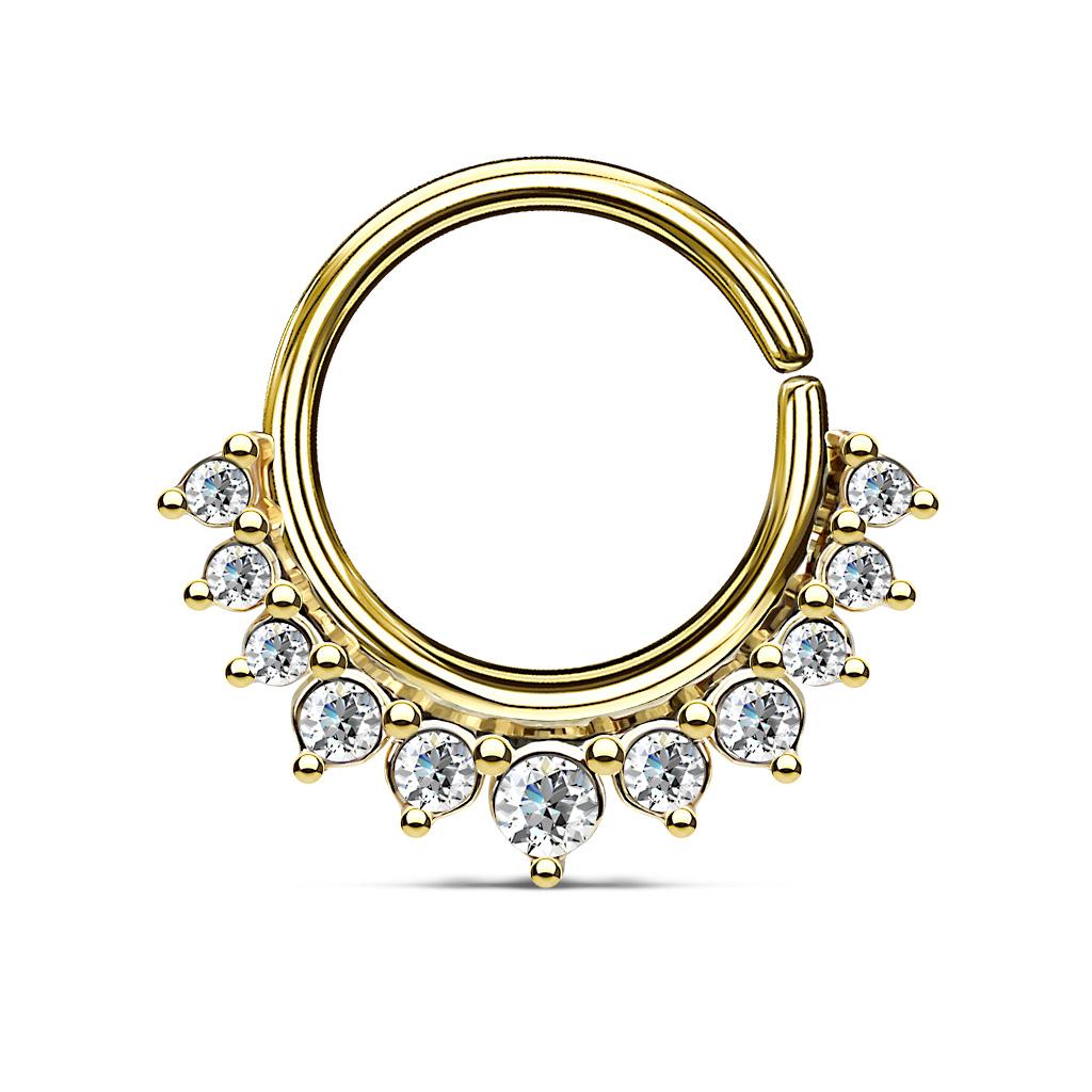 Half Circle Septum Ring Jewellery Body Jewellery Mariposa