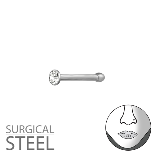 Surgical Steel Nose Stud