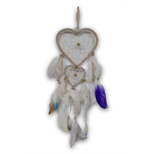 Colour Splash Heart Dreamcatcher 12cm